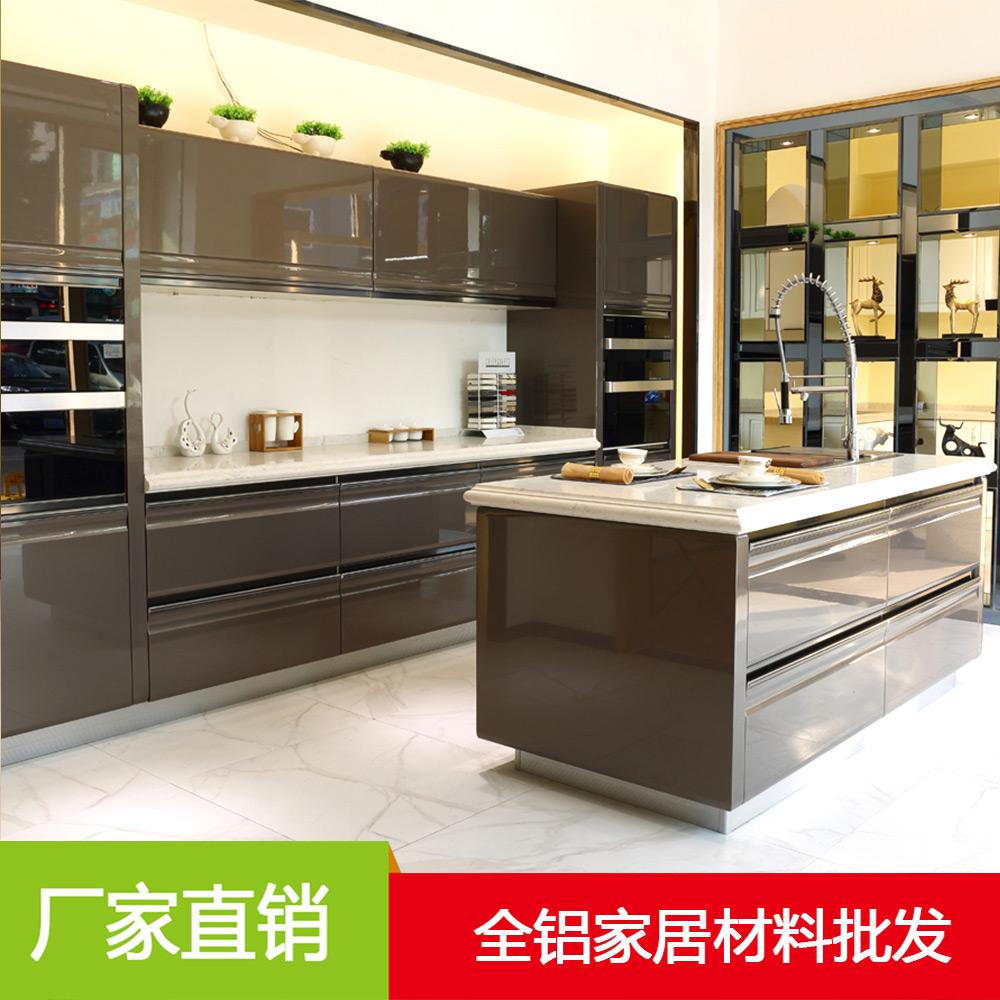 棕色全铝厨房